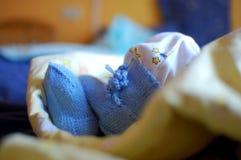 nyfödd pojke Royaltyfri Foto