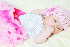 nyfödd sötsak för flicka fotografering för bildbyråer