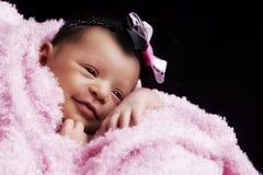 Nyfödd slags tvåsittssoffa Fotografering för Bildbyråer