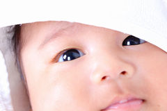 Nyfött behandla som ett barn 3. Arkivfoto