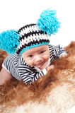 Nyfött behandla som ett barn Royaltyfria Bilder