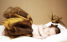 Nyfött behandla som ett barn flickan Royaltyfri Foto