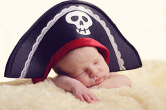 Nyfött piratkopiera Royaltyfria Bilder