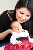 nyfött spädbarn Royaltyfri Fotografi