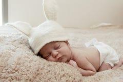Nyfött barn Fotografering för Bildbyråer