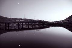Nygårds Brücke Stockbild