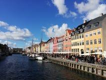 Nyhavn à Copenhague photos libres de droits