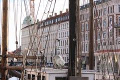 Nyhavn, Копенгаген, Дания Стоковая Фотография RF