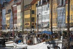 Nyhavn Στοκ φωτογραφία με δικαίωμα ελεύθερης χρήσης