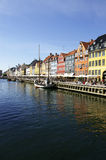 Nyhavn. In Copenhagen, Denmark Stock Photo