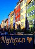 Nyhavn 2018 royalty-vrije stock afbeeldingen