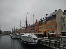 Nyhavn lizenzfreie stockbilder