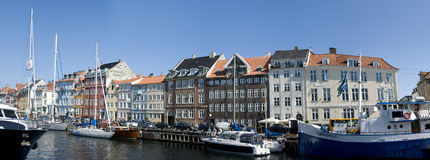 Nyhavn Stockfotos