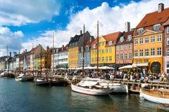 Nyhavn Images libres de droits