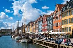 Nyhavn Photo libre de droits