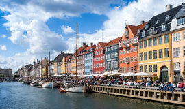 Nyhavn Images stock