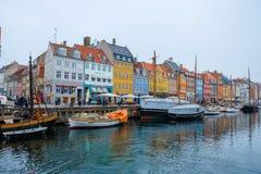 Nyhavn Στοκ Φωτογραφίες