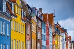 Nyhavn Buildings Royalty Free Stock Image