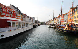 Nyhavn Canal Stock Photography