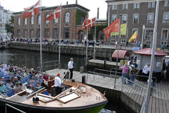 NYHAVN CANAL Royalty Free Stock Image