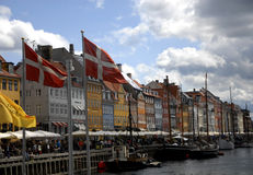 NYHAVN CANAL Stock Image