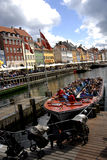 NYHAVN CANAL Stock Photo