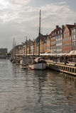 Nyhavn channel Stock Images