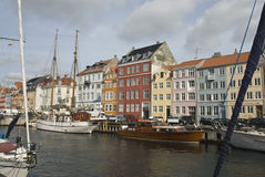 Nyhavn channel Royalty Free Stock Images