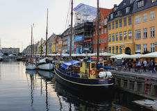 Nyhavn, Copenhaegn Immagine Stock Libera da Diritti