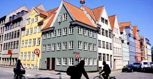 Nyhavn, Copenhaegn Immagini Stock