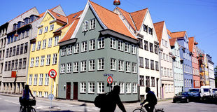 Nyhavn, Copenhaegn Stock Images