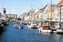 nyhavn Copenhaga Fotografia de Stock