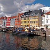 Nyhavn, Copenhaga Imagem de Stock Royalty Free
