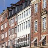 Nyhavn, Copenhaga Fotos de Stock Royalty Free