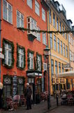 Nyhavn, Copenhaga, Dinamarca Imagens de Stock Royalty Free