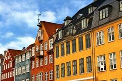 Nyhavn in Copenhagen Stock Photos