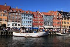 Nyhavn, Copenhagen stock image