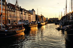 Nyhavn, Copenhagen stock photos