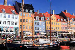 Nyhavn Copenhagen Royalty Free Stock Photo