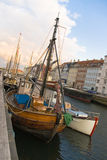 Nyhavn Copenhagen. Nyhavn port at Copenhagen Denmark Royalty Free Stock Photography