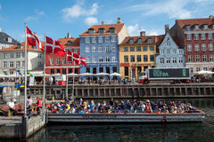 Nyhavn, Copenhagen Royalty Free Stock Photo