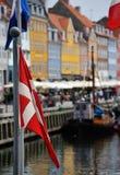 Nyhavn Copenhagen Denmark Stock Photo