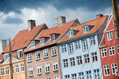 Nyhavn in Copenhagen, Denmark Stock Images