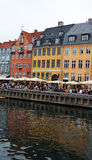 Nyhavn in Copenhagen Stock Photos
