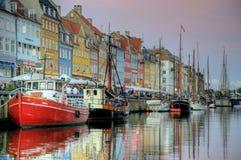 Nyhavn Copenhagen Stock Image