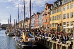Nyhavn in Copenhagen, Denmark Stock Photo