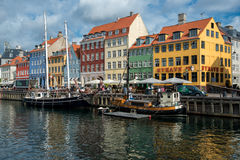 Nyhavn, Copenhagen Stock Photography