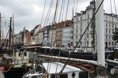 Nyhavn Copenhagen Denmark Royalty Free Stock Images