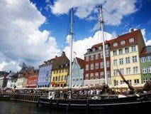 Nyhavn, Copenhagen, Denmark Royalty Free Stock Image