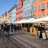 Nyhavn, Copenhagen Stock Photo